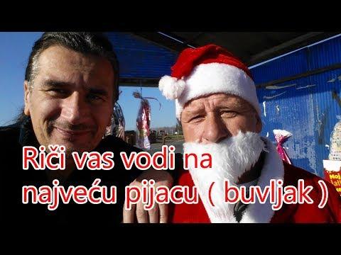 Rici vas vodi na najvecu pijacu ( buvljak ) u Bosni (Memići Kalesija)