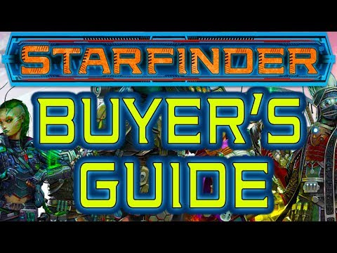 Starfinder Buyer's Guide   What Do You Need to Play Starfinder   Starfinder Review