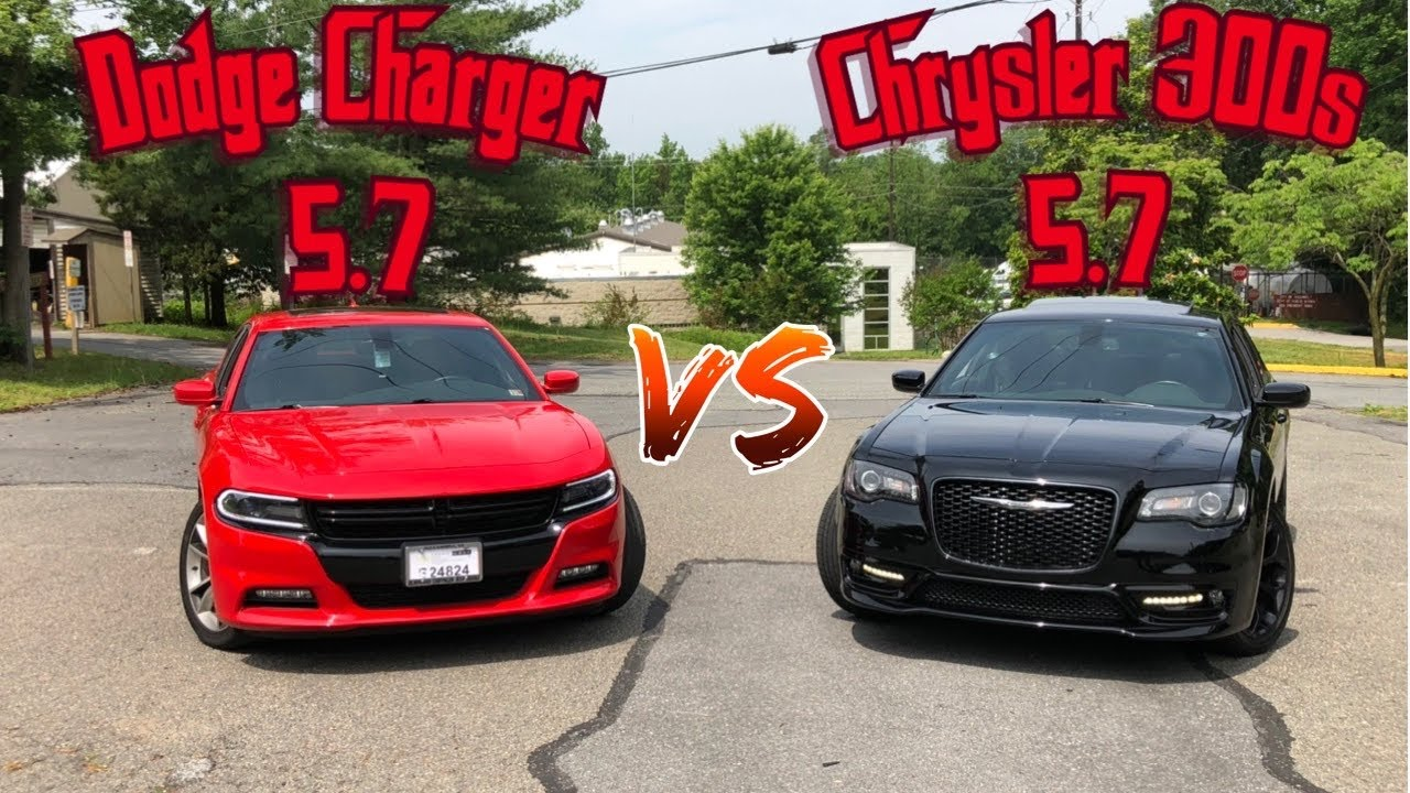 Download DODGE CHARGER VS CHRYSLER 300s!(WHICH ONE IS FASTER)