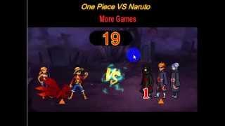 game one piece vs naruto