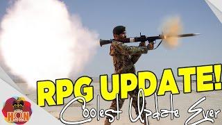 Unturned 3.10.9.0 Update ► Rpg Update ➜ Overpowered  Rocket Launcher?