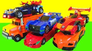 figcaption 헬로카봇 오토소닉 메가볼드 비트런 카봇 삼총사 장난감 루크 폰 나이트 Hellocarbot toys
