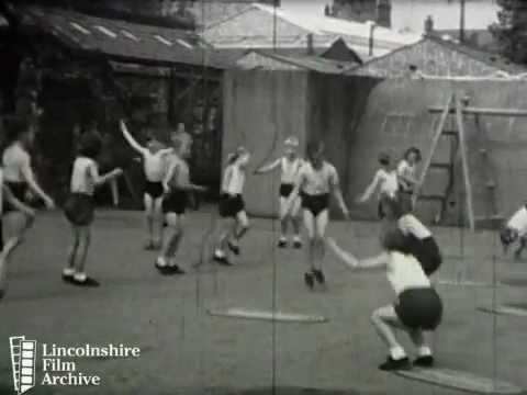 P.E. IN THE INFANT SCHOOL 1950