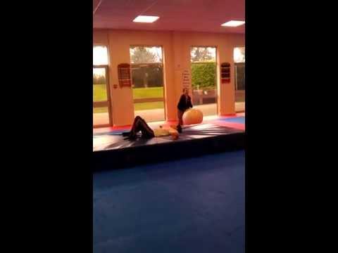 Fitball fail at Basingstoke Martial Arts Club