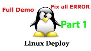 Linux deploy full demo with installing kali linux & all error fixed (part 1)