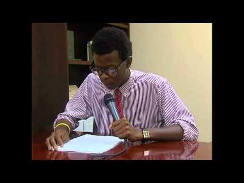 Kwesi Aaron, Winner of the 2012 ERASE Racism Essay Contest