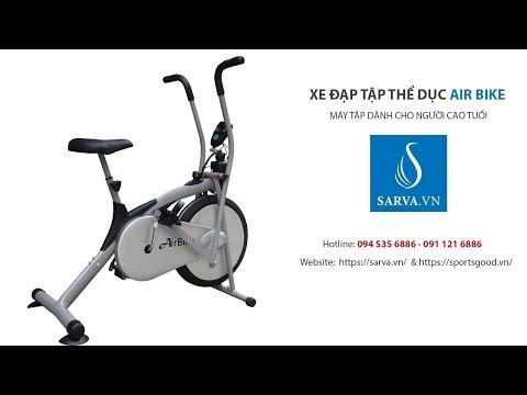 Xe đạp Tập Thể Dục Air Bike, Máy Tập Dành Cho Người Già Và Người Bị Tai Biến.