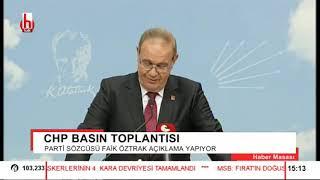 CHP'den MYK sonrası açıklama! Erdoğan'a çok sert sözler...