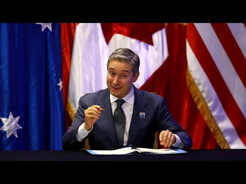 Canada signs revised TPP