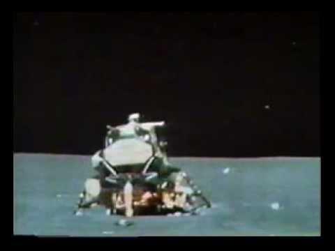 Apollo 15 Lunar module Falcon - lift-off and ascent - on ...