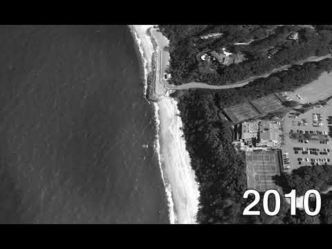 East Beach in Port Jefferson from 1994 to 2017