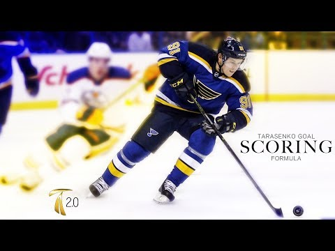 How To Score More Goals In Hockey - Vladmir Tarasenko Goal Scoring Formula