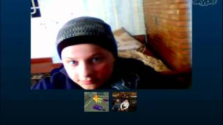 ll Прикол в Skype ll Cotoman Razvan ll Vinetoy ll