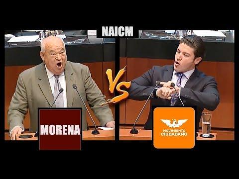 Sen. Víctor Castro (MORENA) VS Sen. Samuel García