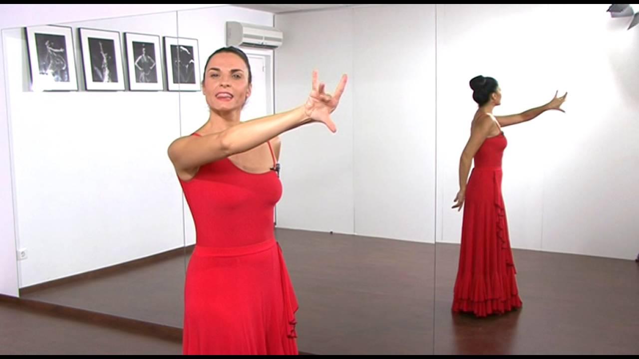 La Posición De Los Brazos En El Baile Flamenco Youtube