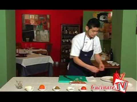 www cucinare tv 04 carpaccio di gamberi youtube