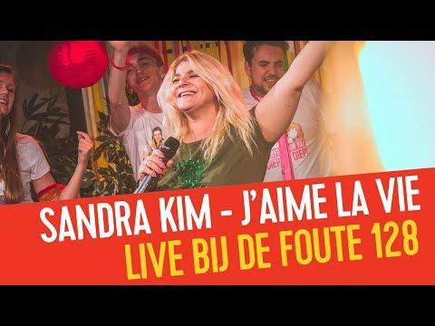Sandra Kim - J'aime La Vie | Live bij de Foute 128