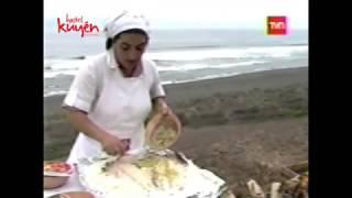 2005 - Corvina a la Conchesu, programa de TVN Frutos del Pais.