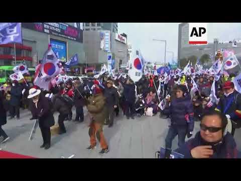 Anti-North Korea protest rally in Seoul