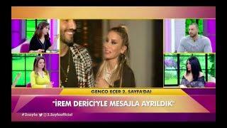 Genco Ecer İrem Derici hakkında konuşuyor Ataberk