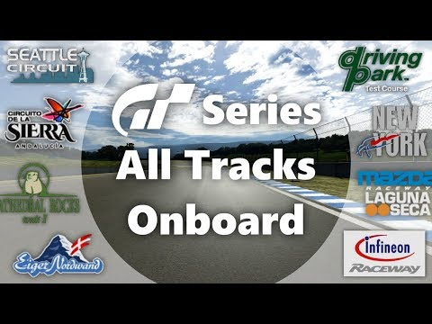 Gran Turismo Series - All Tracks Onboard (GT1-GT6) (Video Game Music)