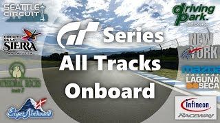 gran turismo series all tracks onboard gt1 gt6 video game music