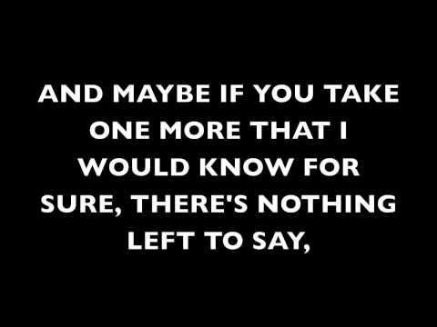 Tell Me That You Love Me Anyway- Victoria Justice Lyrics