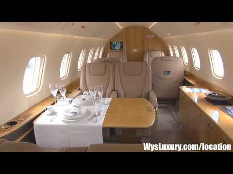 Embraer LEGACY 650 Aircraft Aviation Luxury Interior Private Plane Jet Aircraft Charter Flight