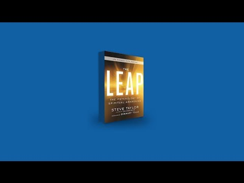 The Leap by Steve Taylor: On-line Book Launch