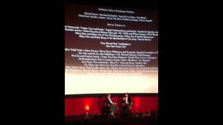 AFI Fest - The Impossible - Juan Antonio Bayona Q And A