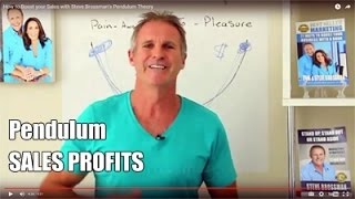 How to Boost your Sales with Steve Brossman's Pendulum Theory