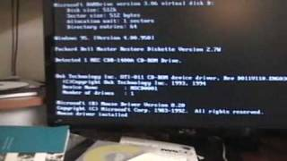 Reformatting My Packard Bell (Part 1)