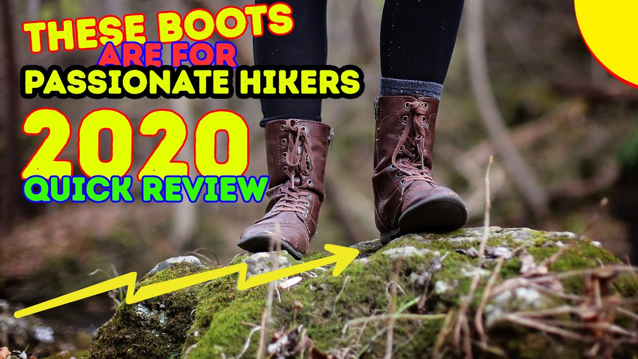 f7d377b6f4a Best Hiking Boots for Men 2018 - YouTube