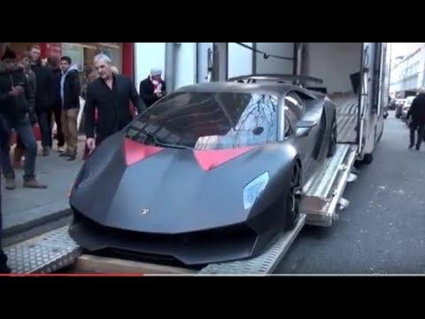 Asi Es La Entrega Del Lamborghini Sesto Elemento Youtube
