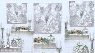 Diy  Wall Art|diy Home Decor 2019|abstract Wall Art