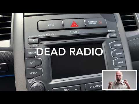 DIY Fix Your Broken Car Radio – Kia Soul 2011 2012 2013 – THIS WORKS!