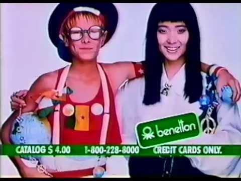 80's Ads: Benetton Clothing 1986