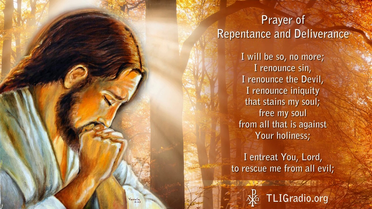 Is it possible without prayer of repentance to become holy