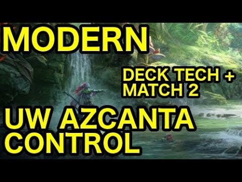[MODERN] UW Azcanta Control vs. Temur Hollow One (Deck Tech + Match 2)