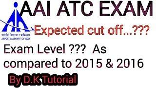 AAI ATC EXPECTED CUT OFF MARKS||AAI ATC