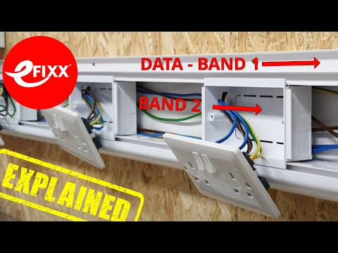KNOW HOW: Data cable installation in dado trunking - Separating band 1 and band 2 circuits