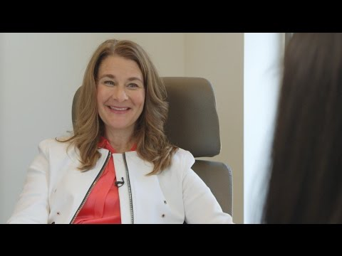 Passion - Melinda Gates Interview for the Ann Richards School Foundation