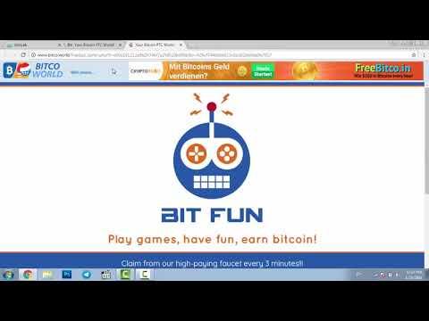 کسب درآمد رایگان از اینترنت(آموزش وبسایت bitcoworld) کسب بیت کوین رایگان از اینترنت