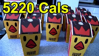 160 Chicken Fries Challenge