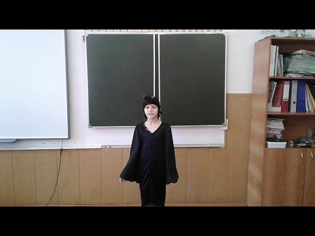 Изображение предпросмотра прочтения – АнастасияКарамушко читает произведение «Ворона» А.А.Блока