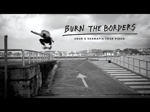 Burn The Borders   TW SKATEboarding video