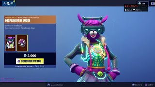 THE *NEW STORE* OF FORTNITE'S NEW YEAR TODAY 1 JANUARY *NEW SKIN* DJ BOP 😍