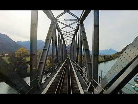 Driver's Eye View - Meiringen to Interlaken (Switzerland)