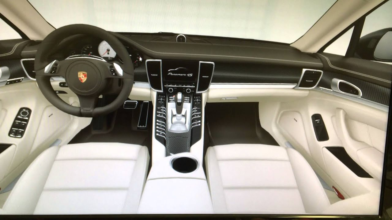 2014 Porsche Panamera 4s Configuration Agate Grey Cream