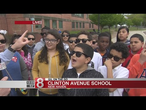 Gil on the Go: Clinton Avenue School in New Haven